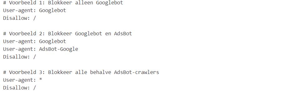 robot.txt bestand voorbeeld-908x294